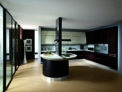 ALLESBAUABC.DE - Moderne Küche aus Holz
