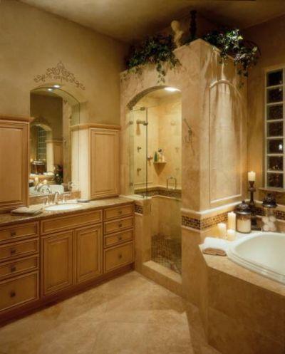 Ein Typisches Badezimmer Hat Sich Völlig Verändert Und Sich Zu Einer  Wunderschönen Oase Mit Der Aura Der Alten Zeiten Verwandelt.